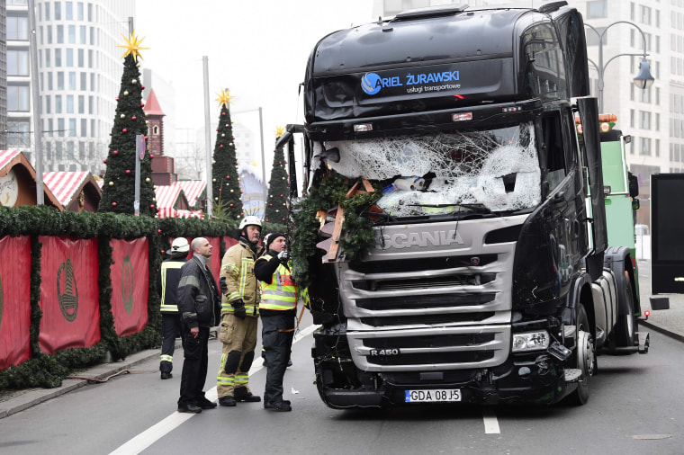 Image: Christmas market attack