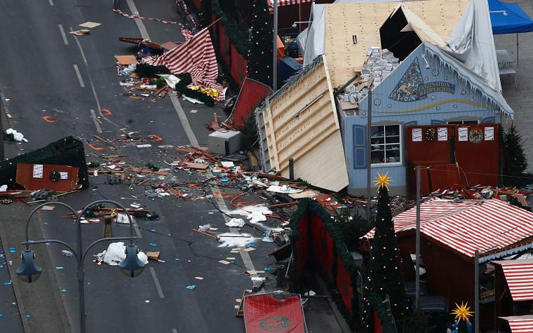 Berlin Christmas Market.Berlin Truck Attack Christmas Market Suspect Released Due