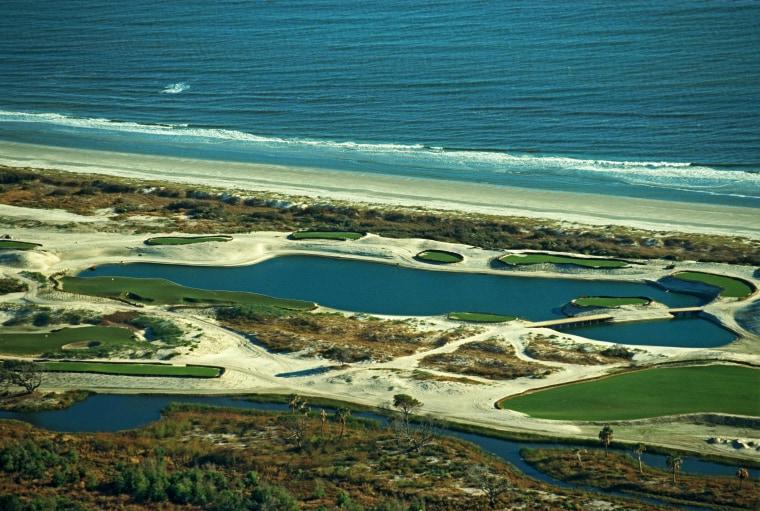 Aerial View Of The Kiawah Island Golf Resort