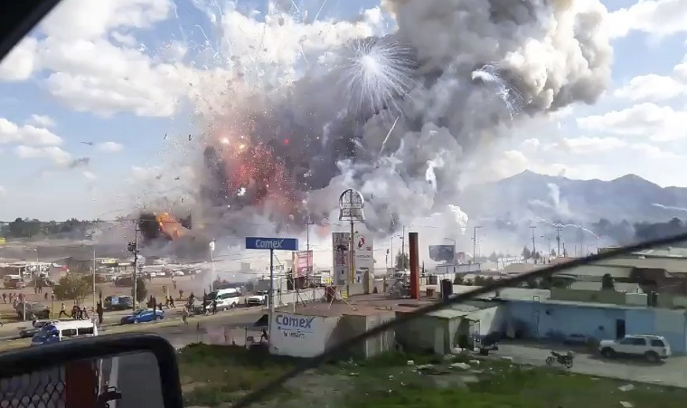 Image: Mexico Fireworks market