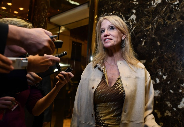 Kellyanne Conway Brings Blunt Talk About Gender to the White House