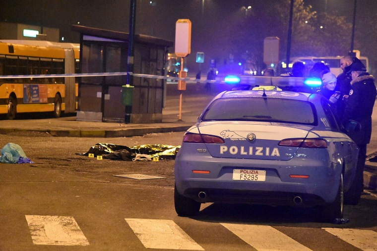 Image: ITALY-GERMANY-ATTACK-SUSPECT