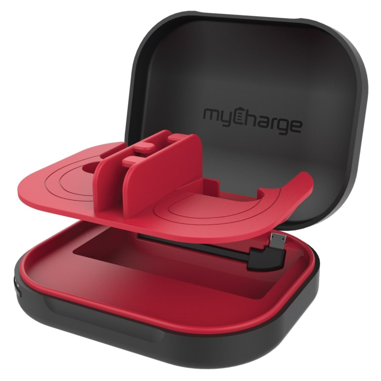 The MyCharge HubXtra has a built-in Lightning as well as micro-USB so you can use it with both Apple and Android devices.
