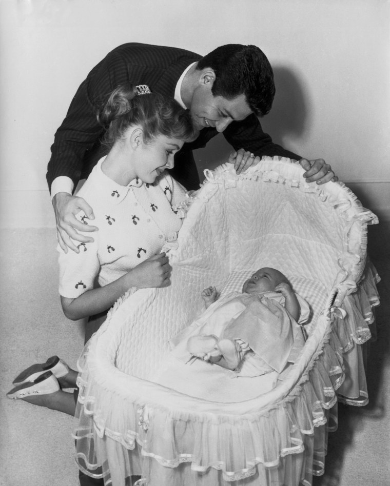 Eddie Fisher and Family