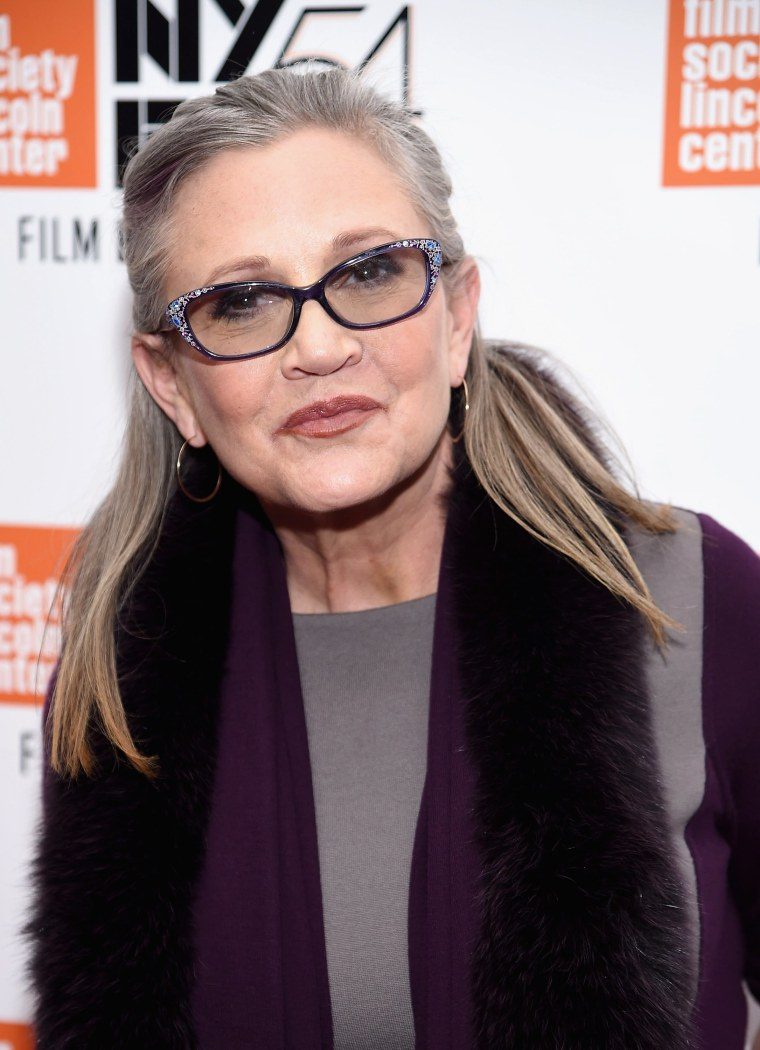 Image: FILE: Carrie Fisher Reportedly Suffers Heart Attack