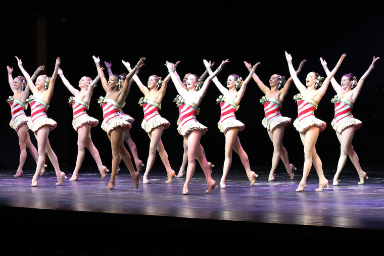 """Christmas Spectacular Starring The Radio City Rockettes"" Opening Night"