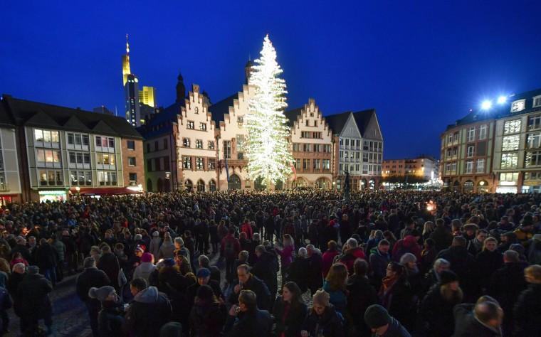 Image: Christmas Eve in Frankfurt