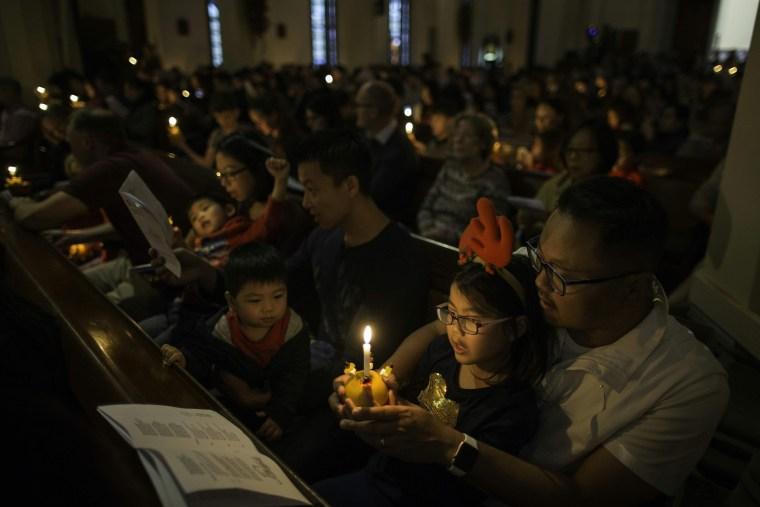 Image: HONG KONG-CHRISTMAS