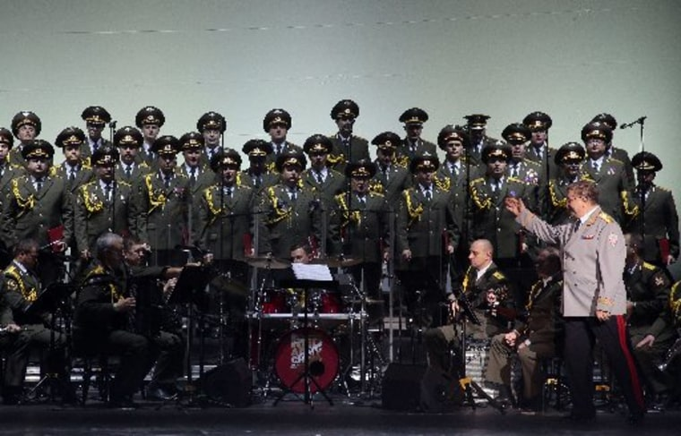 Image: Members of the Alexandrov Ensemble