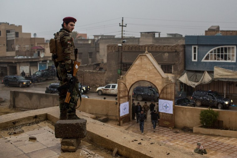 Image: Christian Towns Newly Liberated From ISIL Celebrate Christmas