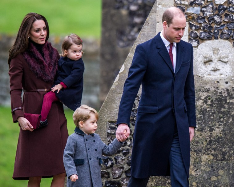 British Royal Family Attends Sandringham Christmas Day Service