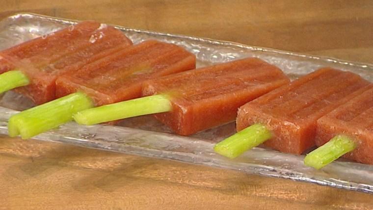 Joy Bauer's Bloody Mary Ice Pops