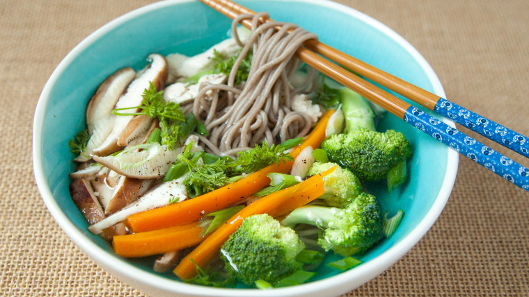 5 Good Luck Foods for New Year's: Soba Noodles