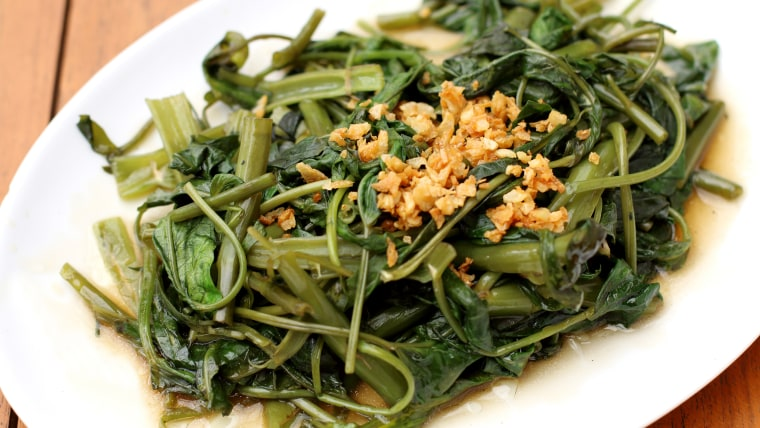 Kale with Garlic and Chiles