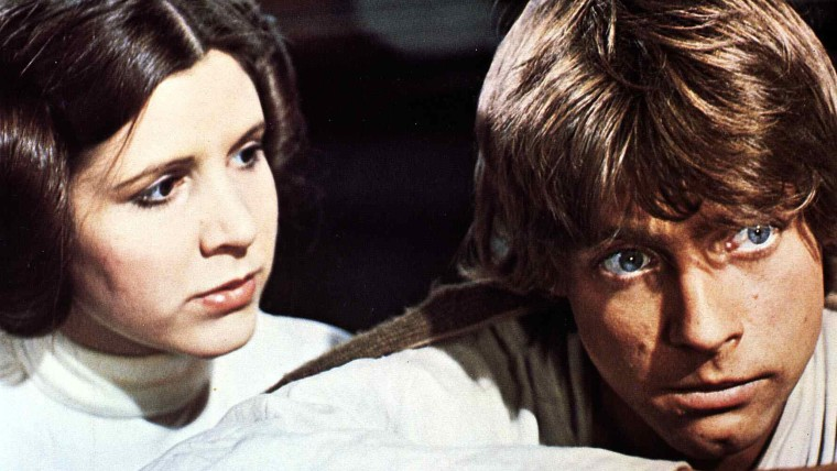 Star Wars Episode IV - A New Hope - 1977 Carrie Fisher, Mark Hamill