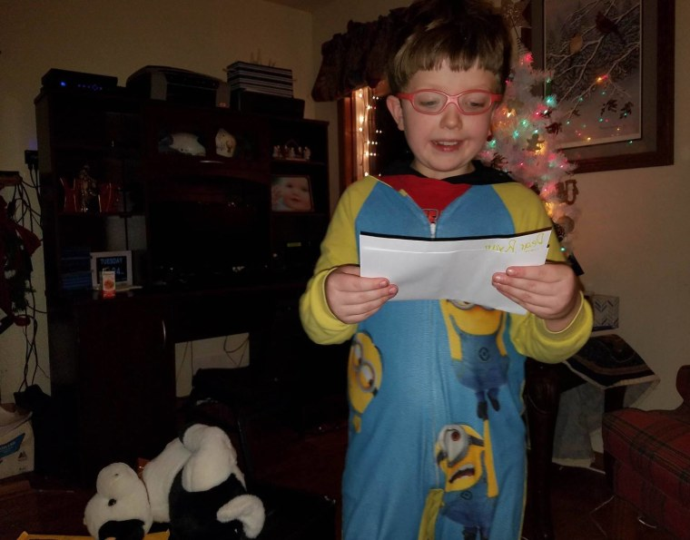 Ryan has received letters of encouragement from across the country.