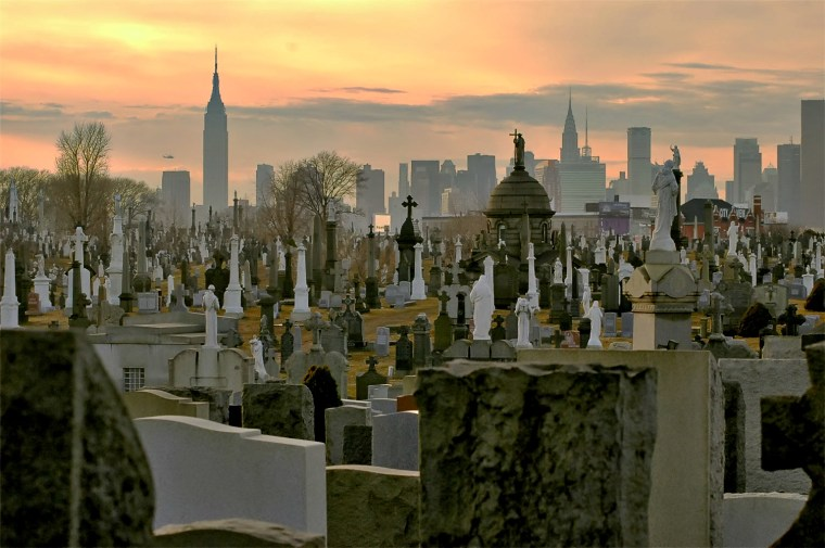 Calvary Cemetery in Queens, New York.
