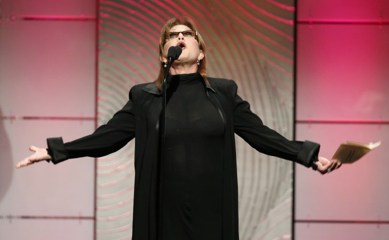 Image: Carrie Fisher's life in pictures