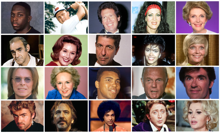 Celebrity Deaths in 2016: Some of the Many Famous Figures We