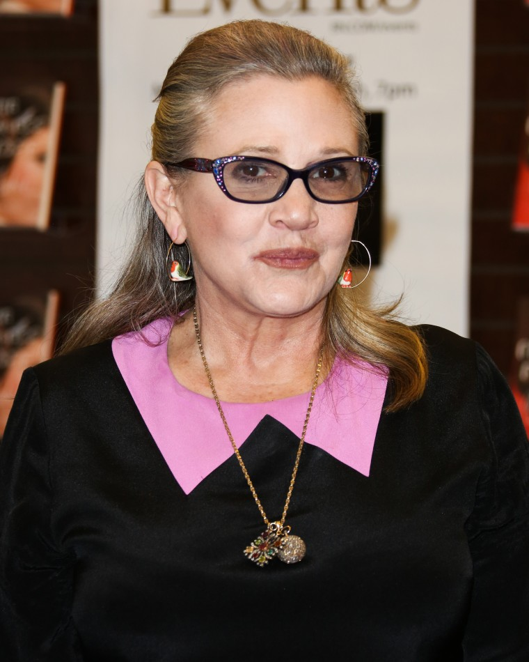 Image: Actress Carrie Fisher