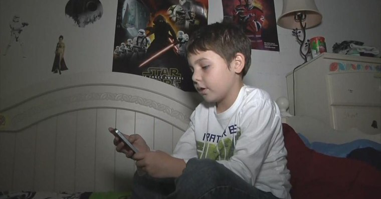 8-year-old Joe Maldonado of New Jersey