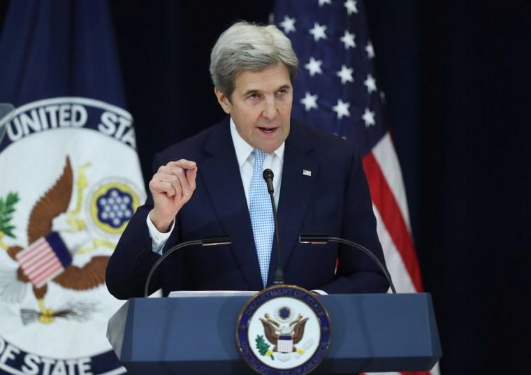 Image: Secretary of State John Kerry s