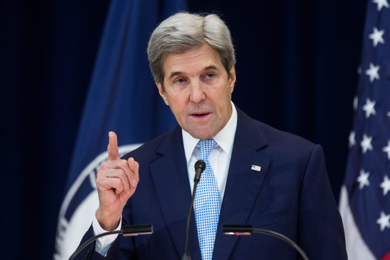 Image: U.S. Secretary of State John Kerry