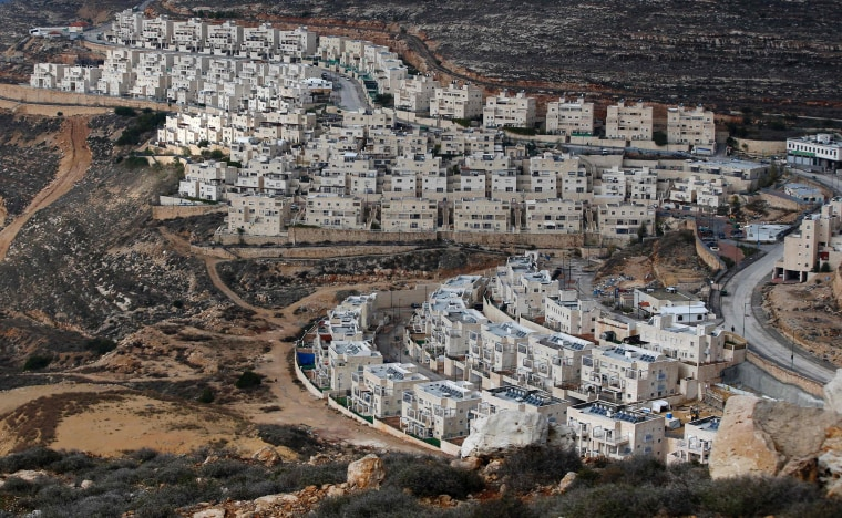 Image: PALESTINIAN-ISRAEL-CONFLICT-SETTLEMENTS