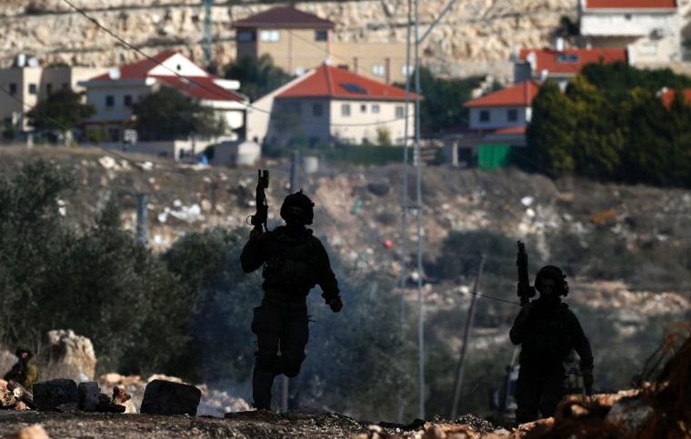 Image: PALESTINIAN-ISRAEL-CONFLICT-DEMO