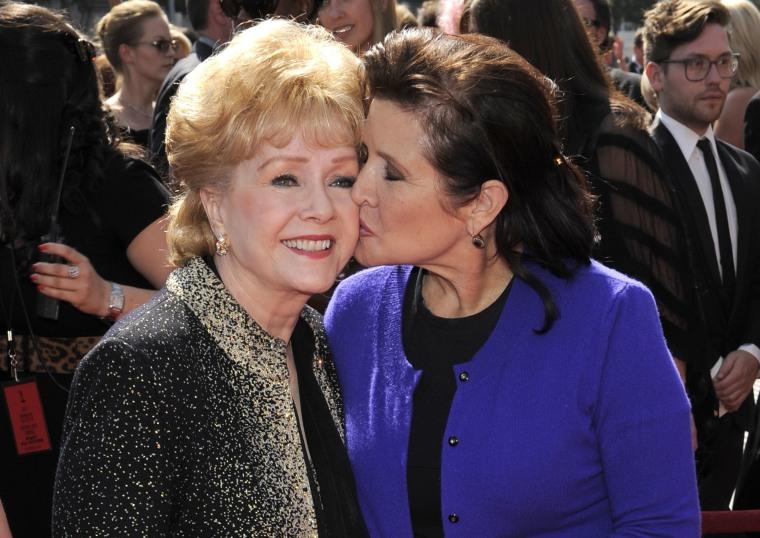 Image: Debbie Reynolds, Carrie Fisher