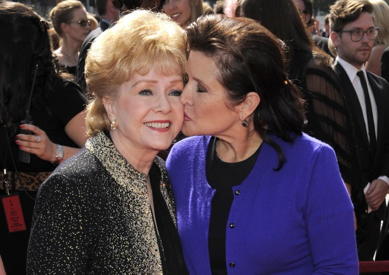 Image: Debbie Reynolds, Carrie Fisher
