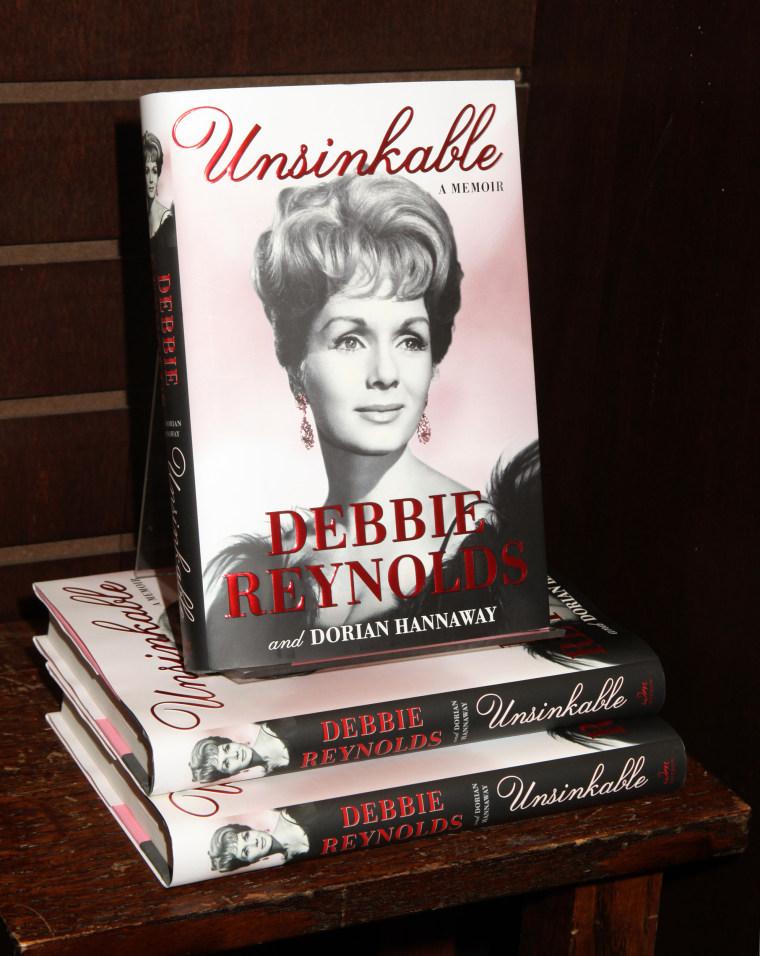 """Debbie Reynolds Signs Copies Of Her New Book \""""Unsinkable: A Memoir\"""""""