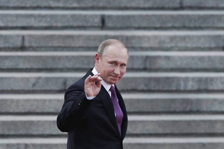 Image: Vladimir Putin in China