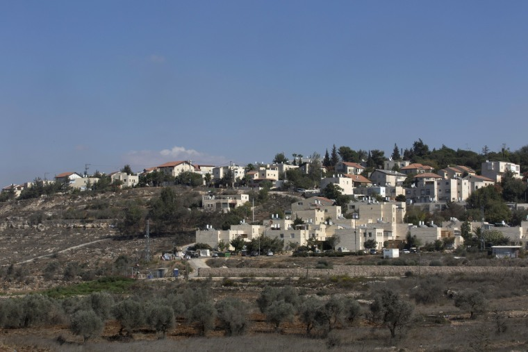 Image: The Israeli settlement of Beit El