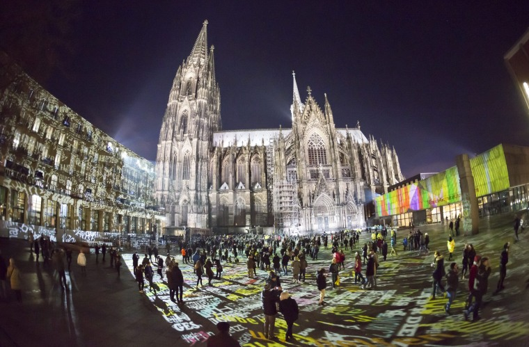 Image: New Year's Eve celebrations in Cologne