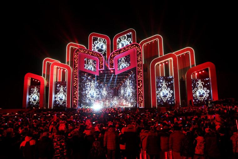Image: New Year's Eve celebrations in Zakopane