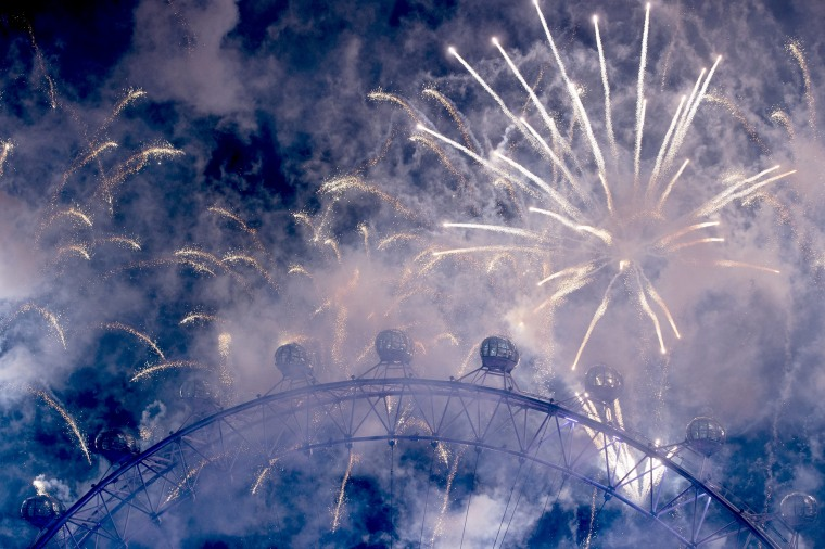 Image: New Year's Eve celebration in London