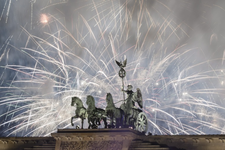 Image: New Year's Eve celebrations in Berlin