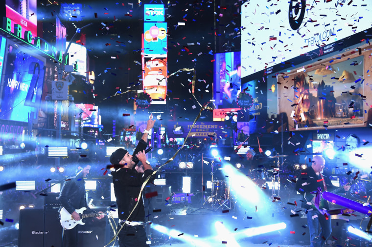 Image: New Year's Eve 2016 In Times Square
