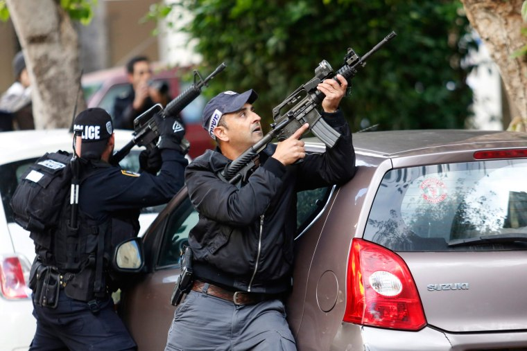 Image: Shooting  attack in Tel Aviv