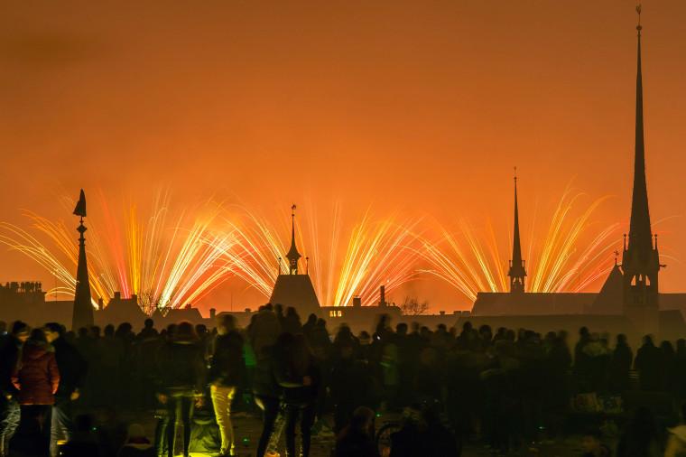 Image: New Year in Zuerich, Switzerland
