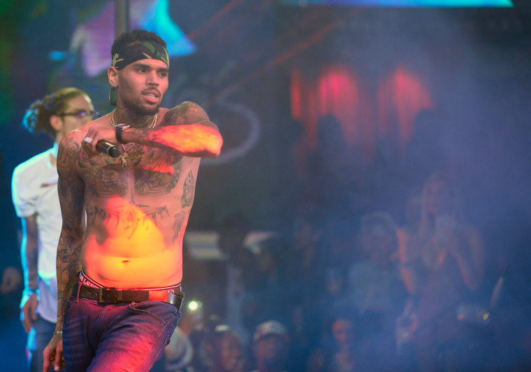 Image: Drai's LIVE Kicks Off 2016 With Performance By Resident Artist Chris Brown At Drai's Nightclub In Las Vegas