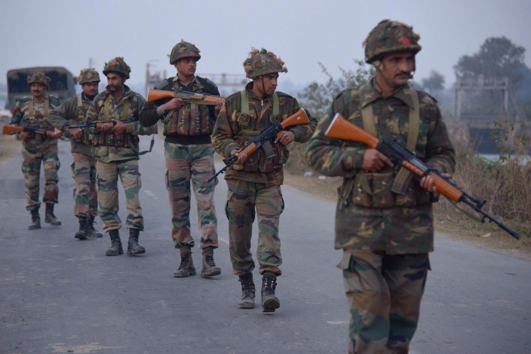 Image: INDIA-UNREST-PAKISTAN