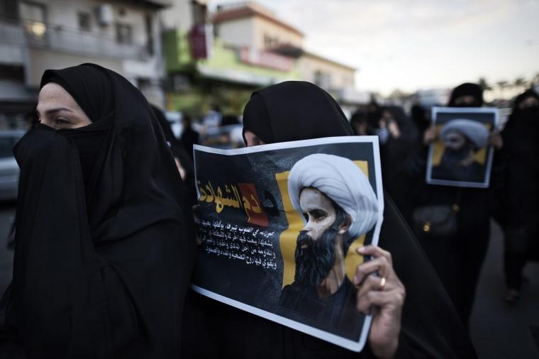 Image: BAHRAIN-SAUDI-EXECUTION-DEMO