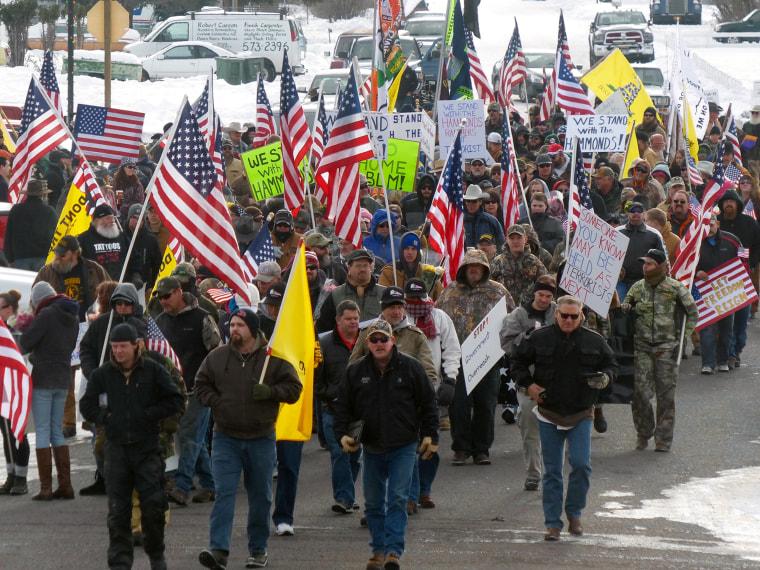 Image: Oregon Burns protest