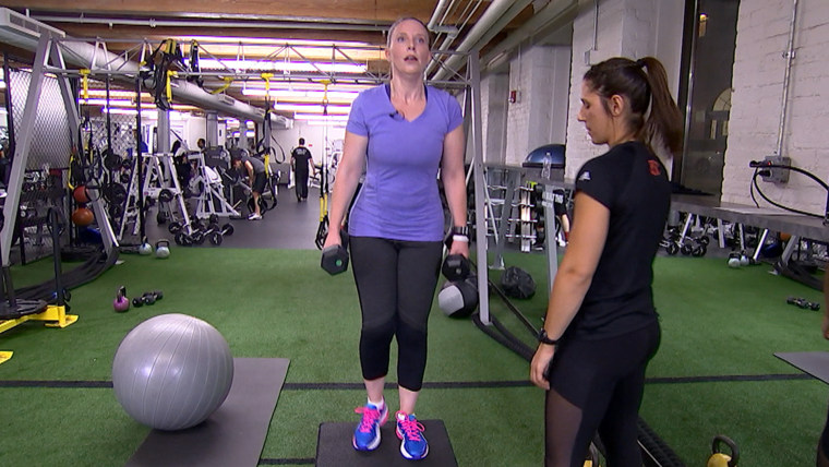 Alysha Palumbo tries out three workouts to find out which burns the most calories.
