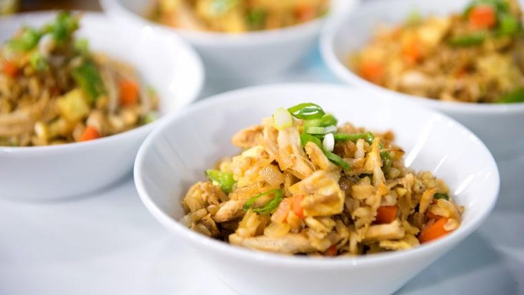 Joy Bauer's Healthy One-Pan Chicken 'Fried' Rice