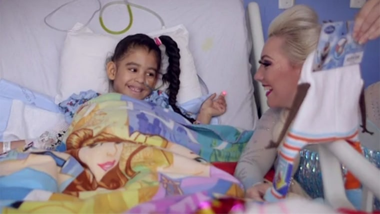 Moment of Magic - an organization started by two college girls who visit sick kids in hospitals dressed as princesses.