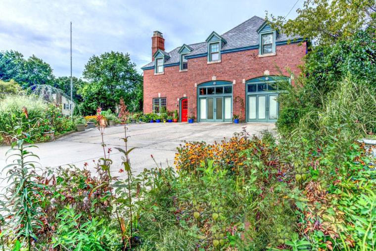 Firehouse home in Rhode Island