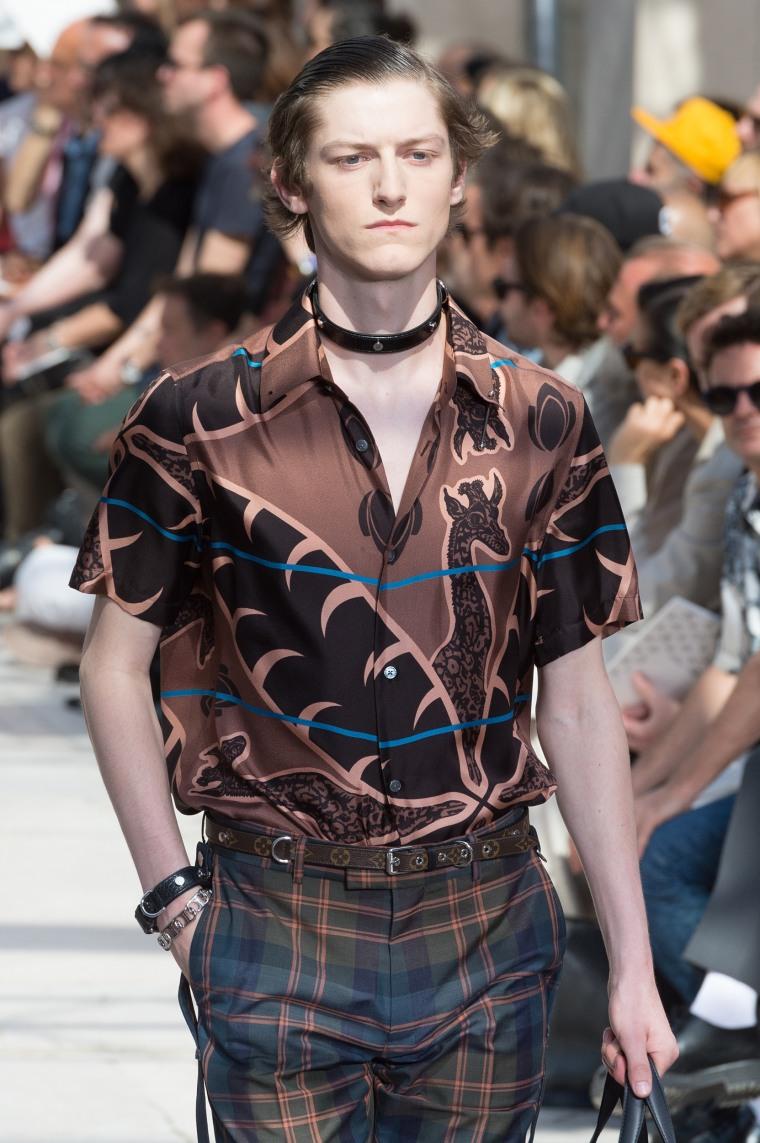 Louis Vuitton male chokers